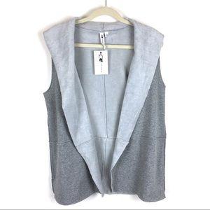 Cable & Gauge | Open Fleece Vest